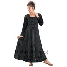 Morgana Medieval Velvet Satin & Lace Tudor Princess Dress Gown. http://holyclothing.com/index.php/