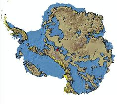 What Antarctica looks like without ice.