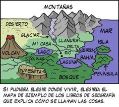 """""""El último sitio donde querría vivir es esa granja que hay al fondo en los diagramas que explican cómo se forman los tornados."""" xkcd en Español"""