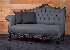 Sedie barocche ~ Poltrona barocco marsiglia argento con tessuto fucsia 83x83x115