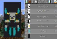 Minecraft Banner Crafting, Minecraft Banner Patterns, Cool Minecraft Banners, Minecraft Posters, Amazing Minecraft, Minecraft Dragon Banner, Minecraft Cheats, Minecraft Room, Minecraft Survival