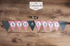 Happy Birthday! Perfect birthday kit for every little pirate. | Pirackie dekoracje urodzinowe by Cudowianki.