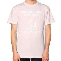 KoreanDogs Unisex T-Shirt (on man)
