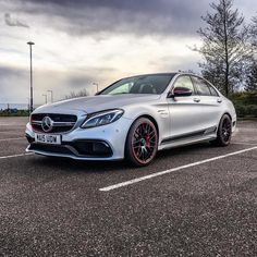 The elegant and aggressive 2016 Mercedes AMG C63 S Edition one. What is your opinion on the AMG C63 S? Photocredit: @rokenr ----------------------------------------------------- AMG C63 S 2016 $73250 MSRP Handcrafted Engine 4.0L AMG biturbo V-8	 Horsepower 503	 MPG 18/25 City/HWY Torque  516 Ib-ft ------------------------------------------------------ #mercedes #benz #sedan #w205 #cclass #cklasse #amgc63s #amgc63 #c63 #c63amg #mercedesbenz #mbfanphoto #mbusa #thebestornothing #mbgarage…