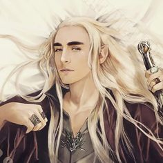 the hobbit and thranduil Bild