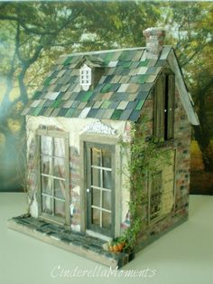 French Quarter Custom Dollhouse. sold