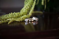 Wedding Rings & Emerald-Cut Ring | Photography: Chris Bailey Photography. Read More: http://www.insideweddings.com/weddings/southern-at-home-wedding-inspired-by-father-of-the-bride-in-texas/753/