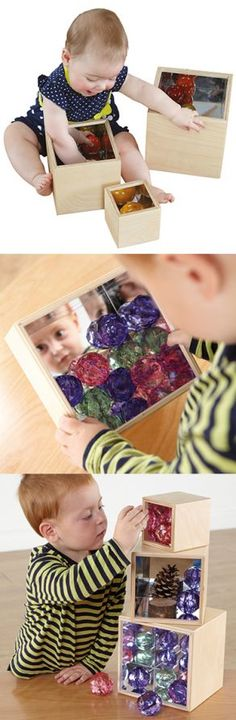 Mirror Boxes Mirror Box, Infant, Boxes, Nursery, Baby, Room Baby, Box, Cases, Child Room