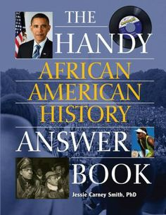 This compendium addresses the people, times, and events that influenced and changed African American history. An overview of major biographical figures and history. This helpful reference answers a wide variety of questions. Blending trivia with historical review in an engaging question-and-answer format, this book is perfect for browsing and is ideal for anyone interested in a better and more thorough understanding of history of black Americans.