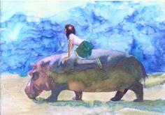 A Trip With Hippo by ~kenikenikeni on deviantART