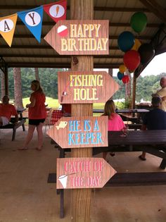 Gone Fishing/Fishing Birthday Party by PerfectlyPlannedbyAP