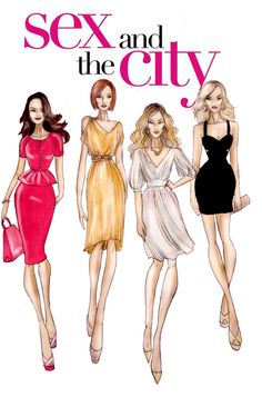 Sex and the city drawings