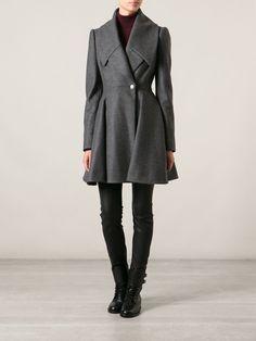 Alexander Mcqueen Button Coat - Gallery Andorra - Farfetch.com