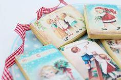 Galletas de Navidad vintage