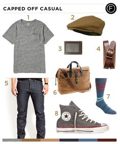 John Cho's casual look is perfect for a day around town. You can get the same look as the popular television and film star with the daily outfit breakdown.