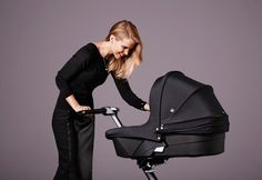 Stokke has taken the iconic Stokke® Xplory® stroller to new heights by outfitting it from top to bottom in True Black.