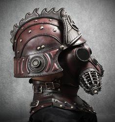 """Lantern City"" guard helmet. www.LanternCityTV.com #steampunk #TV #series #BruceBoxleitner"