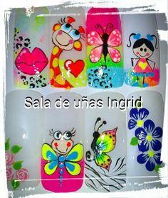 Cute Nail Art, Cute Nails, Pretty Nails, Manicure, Nail Arts, Makeup Art, Hair And Nails, Nail Art Designs, Acrylic Nails