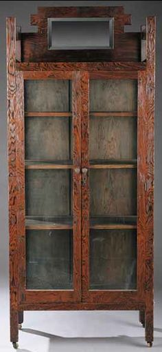 Fresh Antique Cabinets with Glass Doors
