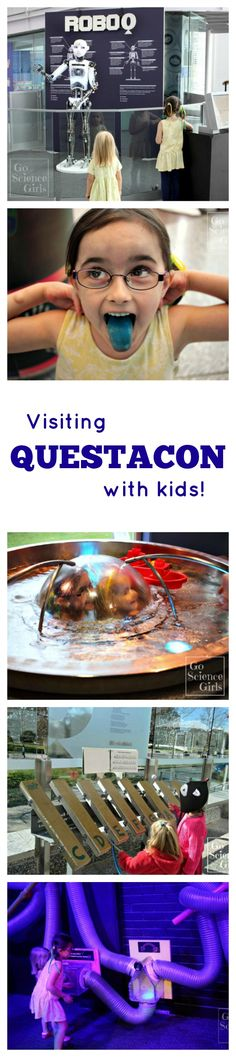 Tips for visiting Questacon (Australia's National Science and Technology Centre) with young children. Inspiring kids to be enthusiastic about STEM!