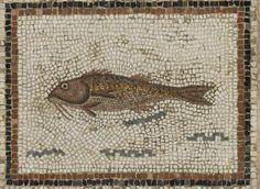 A  Roman Mosaic Emblema Panel, North Africa, circa late 2nd Century A.D.