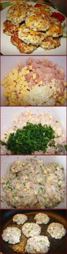 Как приготовить куриные котлеты нежность - рецепт, ингредиенты и фотографии