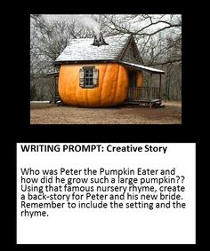 creative story based on a nursery rhyme