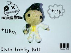 Elvis Presley Doll - El Rey #048 String Doll / Voodoo Doll