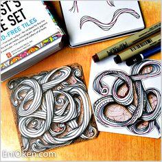 Это так весело рисовать скрученные веревки!  • enioken.com