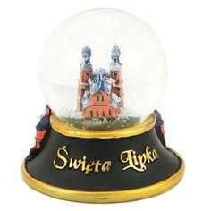 """Snieglente 45 mm - Saint Lipka. """"Snowball"""", kurio viduje yra Świętolipska bazilika. Mergeles Marijos apsilankymas. #saintlipka #šventaslipki Snowball, Snow Globes, Saints, Decor, Decoration, Dekoration, Inredning, Interior Decorating, Deco"""