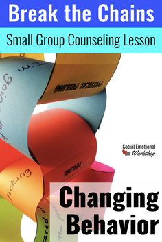 Help students understand where and how they can change their behavior with this concrete activity. Great for small group or individual counseling. This lesson helps student the connection between our thoughts, feelings, emotions, behaviors, and consequences. They learn that a change in any one of these components can break the change of negative behaviors/choices.