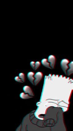 Tapeten ideen Sad wallpapers for iPhone Sad wallpapers for iPhone How to decorate your home effectiv Dark Wallpaper Iphone, Simpson Wallpaper Iphone, Cute Emoji Wallpaper, Cartoon Wallpaper Iphone, Sad Wallpaper, Cute Disney Wallpaper, Aesthetic Iphone Wallpaper, Aesthetic Wallpapers, Samsung Galaxy Wallpaper