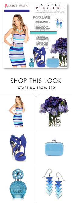 """Amiclubwear 4"" by emina-turic ❤ liked on Polyvore featuring John-Richard, Marc Jacobs and Sienna Sky"