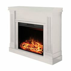 Muskoka Colby 71 cm 28 in Electric Fireplace Mantel from Costco