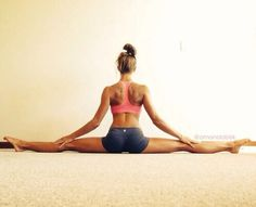 6 Stretches for a Flat Split stretching tips, flexibility