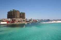 Rent a boat and head to Crab Island during your trip to Destin, Florida.