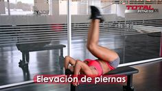 Solo Abdominales! Total Fitness, Michelle Lewin, Gym Equipment, Youtube, Videos, Leg Raises, 6 Pack Abs, Exercises, Workout Equipment