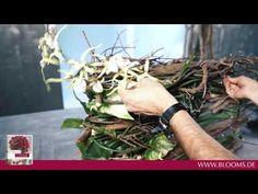 DYI Floral Living: Klaus Wagener stellt ein dauerhaftes Werkstück vor - YouTube