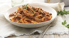 Spaghetti bolognese with Campbell's Condensed