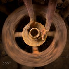 Potters Wheel by Amith Nag on 500px