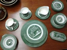 Vintage Colonial Homestead Royal China 36 pc Dish by ThriftyTrendz #vintage #love #dishset @thrifty trendz
