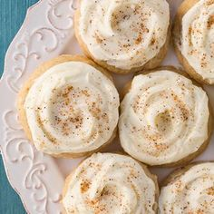 Melt-In-Your-Mouth Eggnog Cookies - Definitely going to try these out.