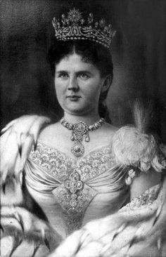 Koningin Emma 1958 - 1934, Tweede echtgenote van Koning Willem III en regentes voor minderjarige dochter Wilhelmina.