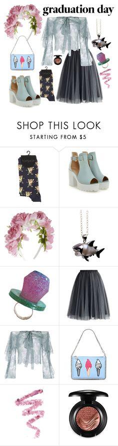 """Graduation Day Style"" by disney-geek-forever on Polyvore featuring Monsoon, London Bird, Chicwish, Philosophy di Lorenzo Serafini, STELLA McCARTNEY, Cynthia Rowley and MAC Cosmetics"