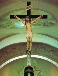"""theraccolta: """"The Crucifix from which Padre Pio received the Stigmata Padre Pio reported under obedience: """"Suddenly I was wrapped in a sea of blazing light. In that light I saw Jesus. He was very beautiful. From his wounds came rays of very bright..."""