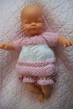 Tuto tenue pour poupée type poupon 32cm