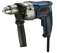 Bosch 8 Amp Corded Electric in. High Speed Variable Speed Drill/Driver with Keyed Chuck and Auxiliary Handle Worx Power Tools, Delta Power Tools, Power Tools For Sale, Cheap Power Tools, Power Hand Tools, Industrial Power Tools, Cordless Power Drill, Corded Drill, Bosch Tools