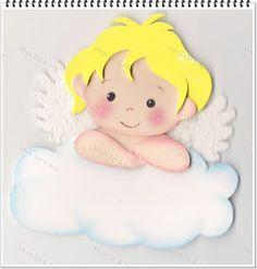 artesanet: Modelos e moldes de anjos