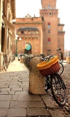 """""""Ferrara, """"La Citta degli Biccicletta"""" Italy"""