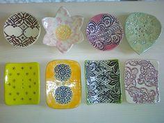Seifenschalen Coasters, Appetizers, Ceramics, Dishes, Ceramica, Pottery, Coaster, Appetizer, Tablewares